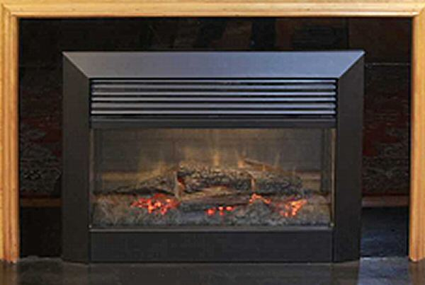 5. Image of a modern electric fireplace