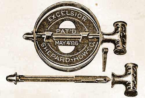 4. Image showing a springless damper design from 1886
