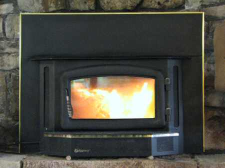 5. Image of a modern closed-combustion gas fireplace