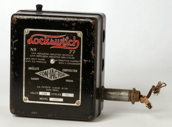 1. Image of a Locksmith magnetic relay