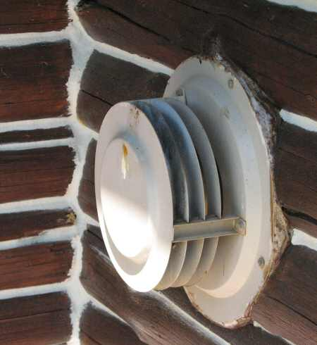 5. Image of a through-the-wall exhaust vent for a heater