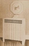 "5. Drawing of a  ""hygienic"" radiator from the 1950s"